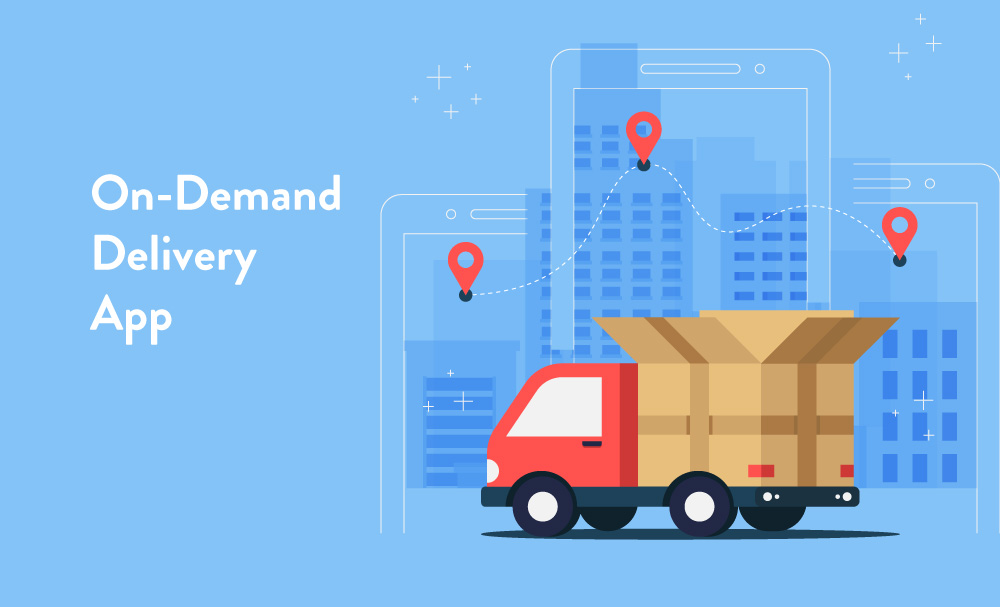 On demand Delivery apps