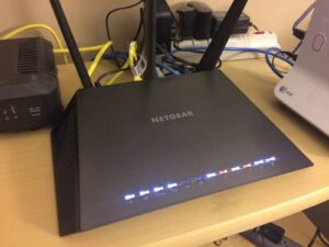 Netgear WiFi router setup